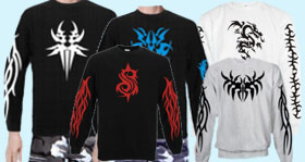 Sweatshirt Tribal,Drache,Odin