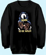 Preview: Sweat-Shirt Born to be wild