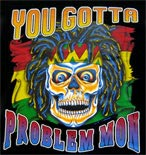 Preview: Langarmshirt Totenkopf  You gotta problem mon