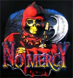 Preview: Langarmshirt Totenkopf - No Mercy