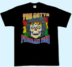 Preview: T-Shirt Totenkopf You gotta problem mon