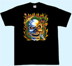 Mobile Preview: T-Shirt Totenkopf/Schwert