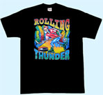 Preview: T-Shirt Totenkopf Rolling Thunder