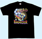 Mobile Preview: T-Shirt Totenkopf Head Banger