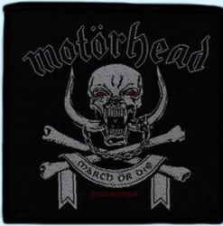 Motörhead Aufnäher March or Die