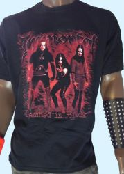 Immortal Shirt- Damned In Black