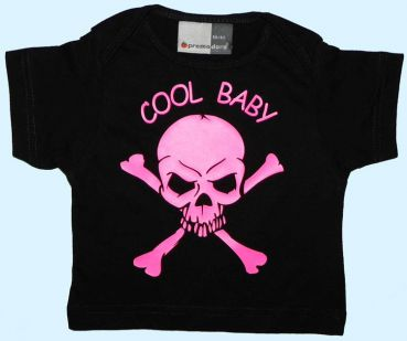 Baby Shirt neonpink-cool Baby