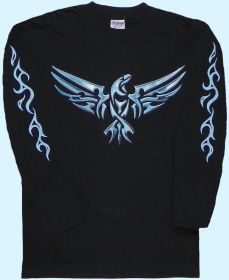 Langarmshirt Tribal Eagle