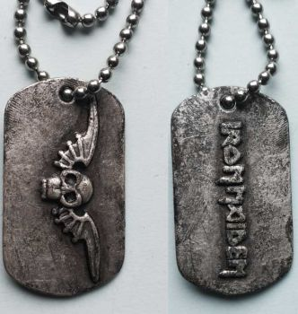 Dog Tag Iron Maiden
