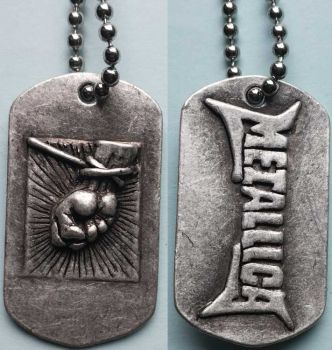 Dog Tag Metallica