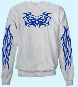 Sweatshirt Trixy Blue