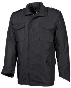 Fieldjacket M65 in schwarz