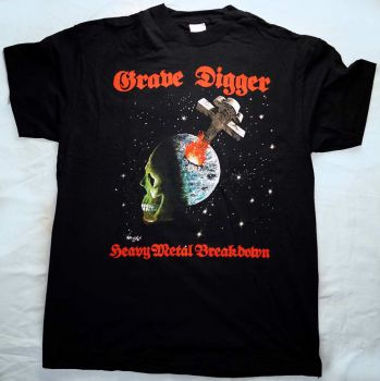 Grave Digger Shirt-Heavy Metal Breakdown