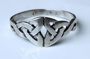 Silberring Tribal Celtic