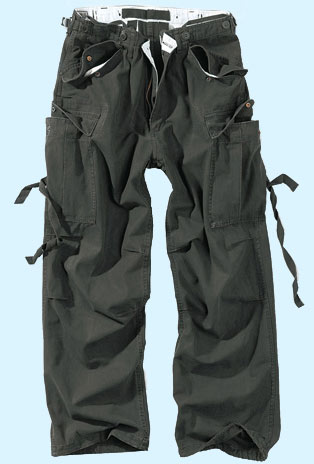 Vintage Fatigues Trousers