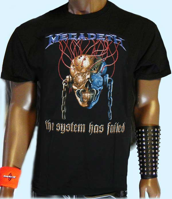 Megadeth T-Shirt -the System has failed