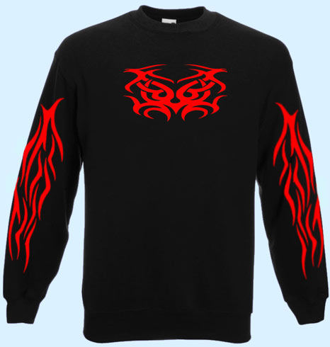 Sweatshirt Trixy Red