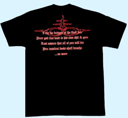 Naglfar -Shirt - Bringer of Final War