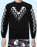 Sweatshirt Tribal Collar